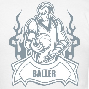 The Baller (Monogrammed) - Men's Lightweight cotton T-Shirt - Men's T-Shirt