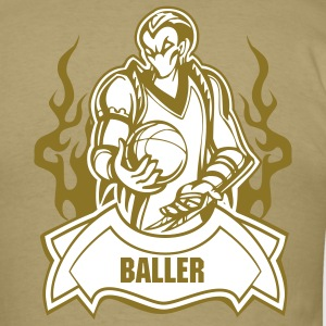 The Baller - Gold - Men's T-Shirt
