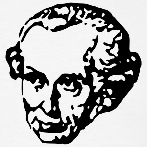 White Immanuel Kant Men - Men's T-Shirt