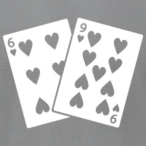 Slate 69 of Hearts Men - Men's T-Shirt by American Apparel