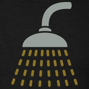 Black golden shower Men - Men's T-Shirt