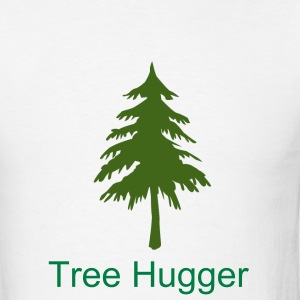 Tree Hugger - Men's T-Shirt