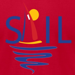 Sail - Men's T-Shirt by American Apparel