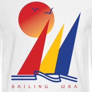 Sailing USA - Men's Long Sleeve T-Shirt