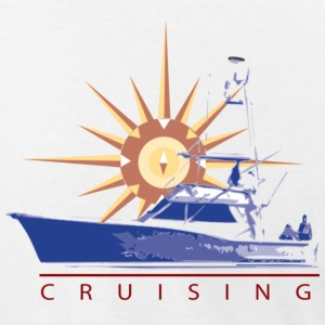 Cruising Power - Men's T-Shirt by American Apparel