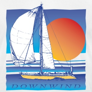Sailing Downwind - Men's T-Shirt by American Apparel