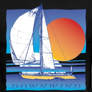 Sailing Downwind - Men's Ringer T-Shirt
