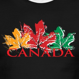 Canada Fall Leaves - Men's Ringer T-Shirt