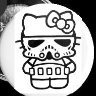 Design ~ Stormtrooper Kitty Buttons