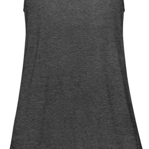 Black heartshearts Women - Women's Flowy Tank Top by Bella