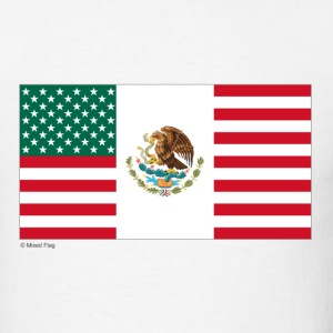 White Mexico USA T-Shirts - Men's T-Shirt