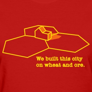 We Built This City - Women's T-Shirt