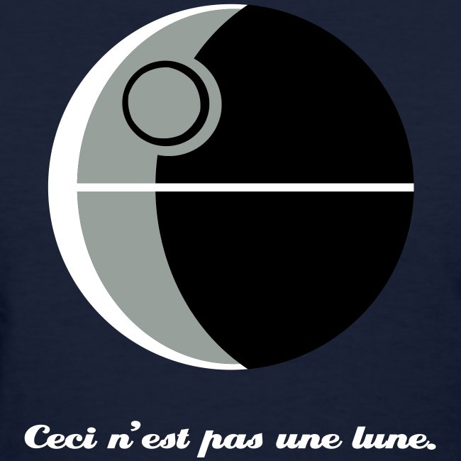 This is not a moon (The Treachery of the Empire)