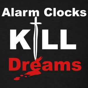 Black alarmclocks Men - Men's T-Shirt