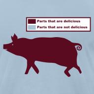 Design ~ Pig Butchering Guide - Jersey - 2013 SALE!