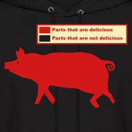 Design ~ Pig Butchering Guide - Hoodie - 2013 SALE!