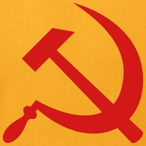 Hammer and Sickle - Men's T-Shirt by American Apparel