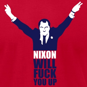 Light blue Nixon Will F*** You Up Men - Men's T-Shirt by American Apparel