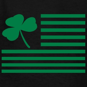 Black Shamrock Flag Kids & Baby - Kids' T-Shirt