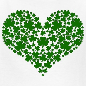 Shamrock Heart - Kids' T-Shirt