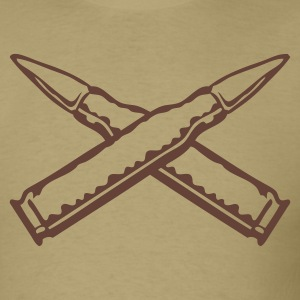 Khaki bullets_x Men - Men's T-Shirt