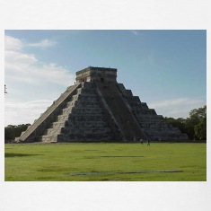 White Chichen Itza Pyramid Men