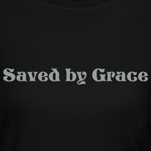 A New Creation - Saved by Gace - Women's Long Sleeve Jersey T-Shirt