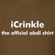 Design ~ iCrinkle - Official ABDL T-Shirt