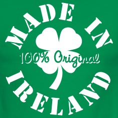 Green/white Made In Ireland Men