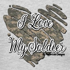 Gray Soldier Heart Women