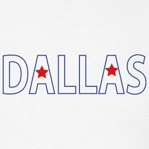 White Dallas Men - Men's T-Shirt