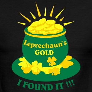 leprechauns_gold_for_st_patricks - Men's Ringer T-Shirt