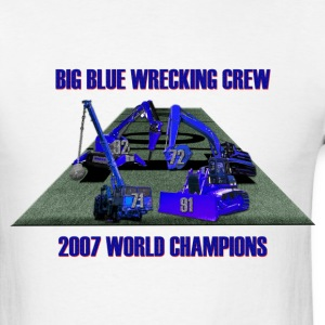 Big Blue Wrecking Crew - Men's T-Shirt