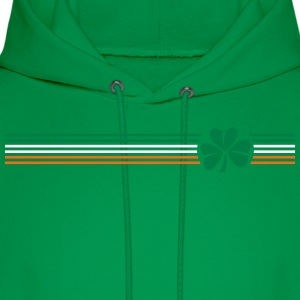 Irish Shamrock Flag - Men's Hoodie