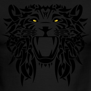 tribal lion - Men's Ringer T-Shirt