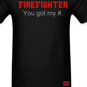 FIRE FIGHTER - Men's T-Shirt