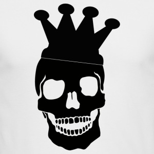 Skull King - Men's Long Sleeve T-Shirt by Next Level