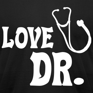 Love Doc - Men's T-Shirt by American Apparel