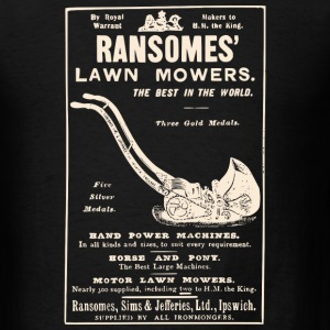 Ransomes Lawn Mowers - Men's T-Shirt