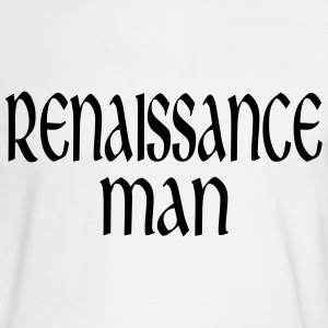White Renaissance Man Men - Men's Long Sleeve T-Shirt