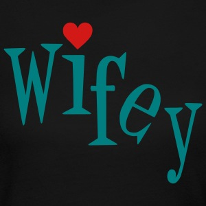 Chocolate Wifey Women - Women's Long Sleeve Jersey T-Shirt