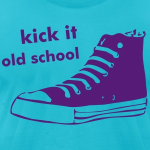 Old school shoe - Men's T-Shirt by American Apparel