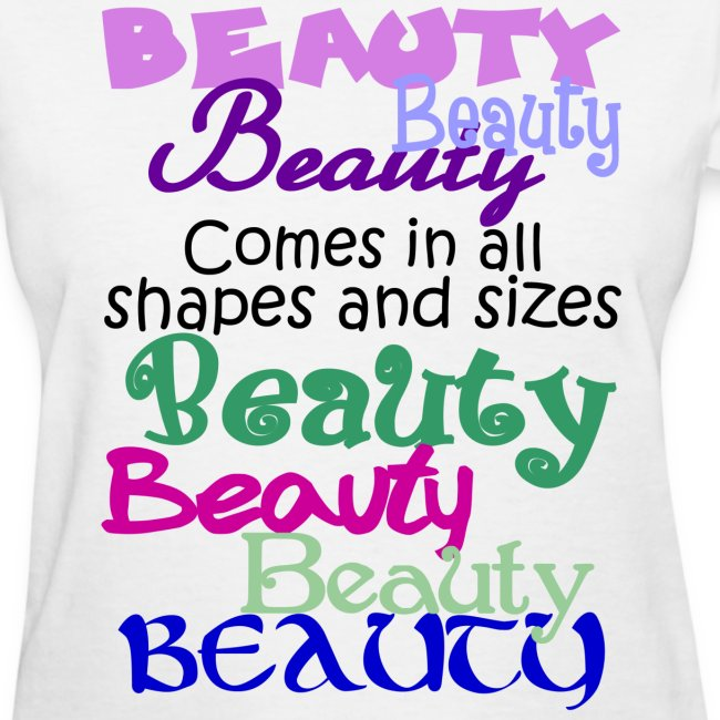 54483bb983c86 Beauty Comes in All Shapes and Sizes