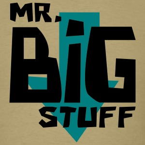 Khaki Mr. Big Stuff Men - Men's T-Shirt