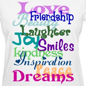 Wonderful Words - Women's T-Shirt