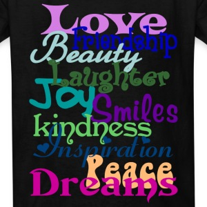 Wonderful Words - Kids' T-Shirt