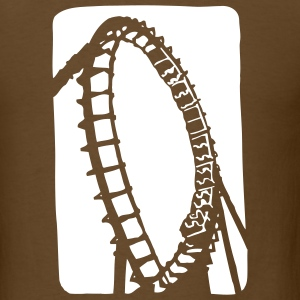 Roller Coaster - Men's T-Shirt