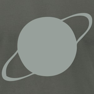 Asphalt Saturn - Planet Men - Men's T-Shirt by American Apparel