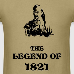 The Legend of 1821 - Men's T-Shirt