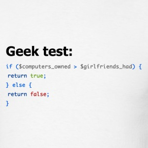 Ultimate Geek Test - Men's T-Shirt